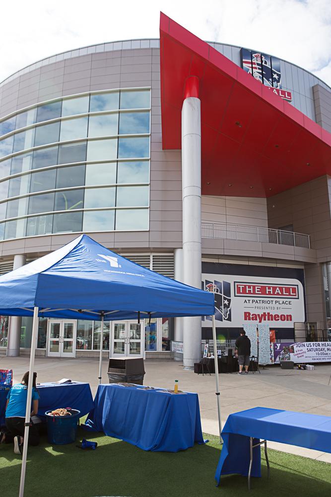 Event Tent Gillette Stadium